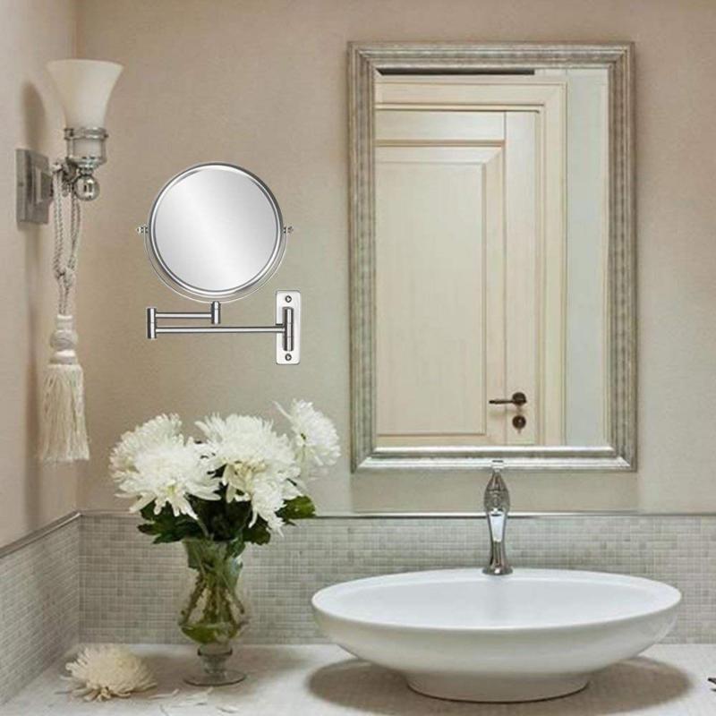 Gương phòng tắm tròn - Kiếng/Gương Soi Mặt Trong Phòng Tắm