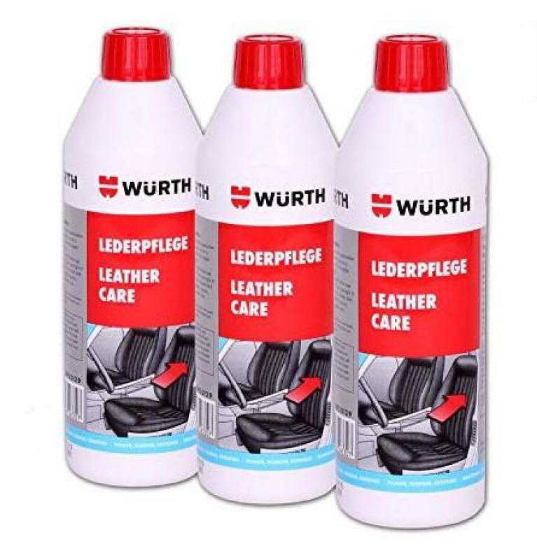 Chất bảo dưỡng ghế da Wurth 500ml