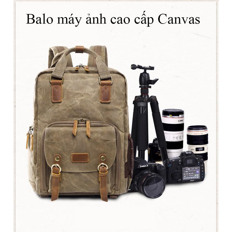 Hình ảnh Balo máy ảnh cao cấp Canvas