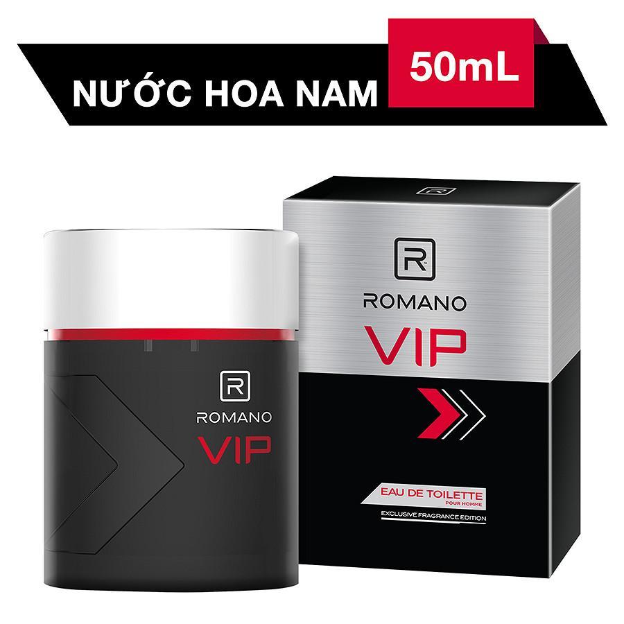 Nước Hoa Cao Cấp Cho Nam Romano VIP-50ml