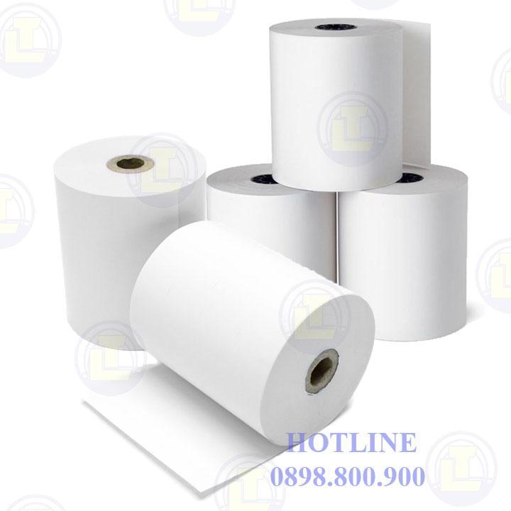 Mua Cuộn giấy in hóa đơn nhiệt loại K57 (phi 45 ) thùng 100 cuộn