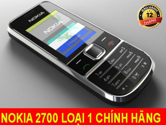 Ôn Tập Điện Thoại Nokia 2700 Bảo Hanh 12 Thang Đen