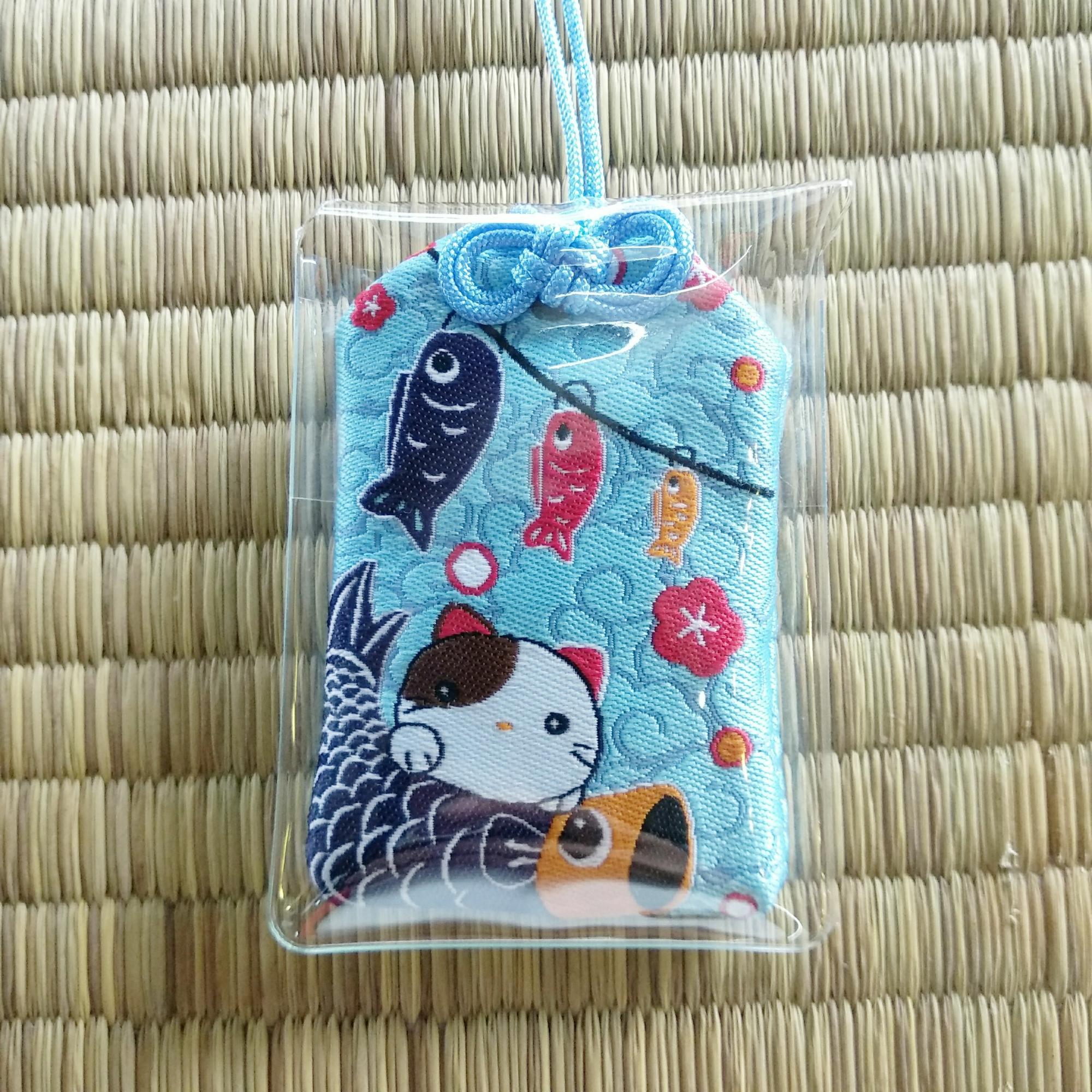 Mua Omamori Nhật Bản cầu may mắn và dư dả có Tặng vỏ nhựa