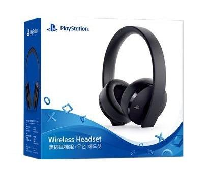 Tai nghe PS4 Sony Playstation 4 Gold Wireless Headset (Đen)
