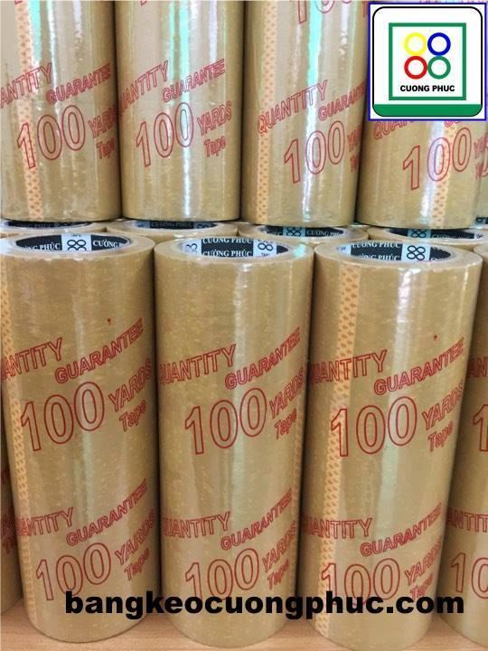 Băng Keo Đục 5F x 100 yard - Hàng siêu dính chắc ( 1 cây/ 6 cuộn)