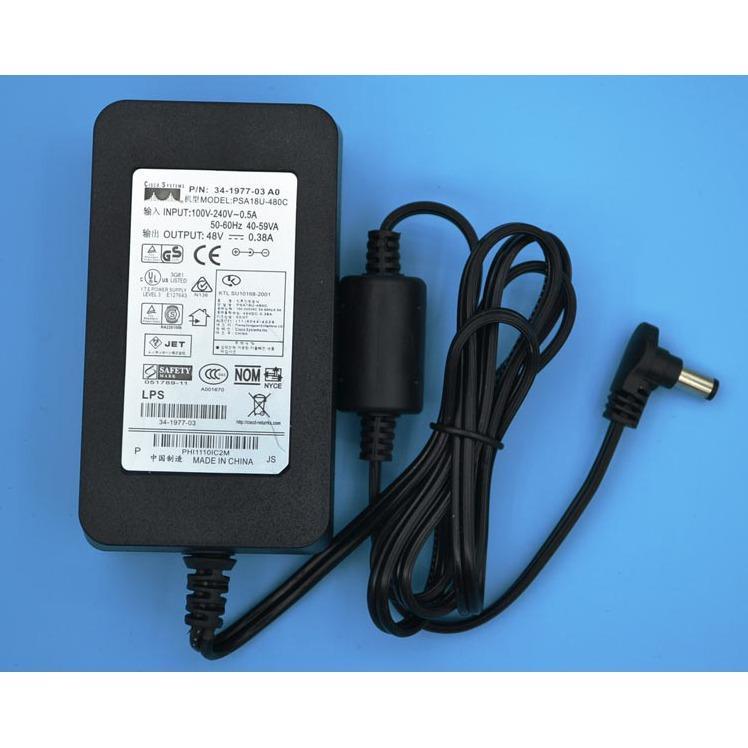 Hình ảnh Adapter nguồn Cisco 48V 0.38A chính hãng