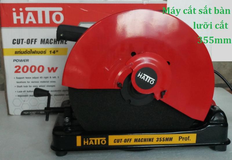 Mua ngay Máy Cắt| Máy cắt sắt bàn Hatto 355B| máy cắt sắt nhập khẩu