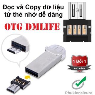 OTG - Đầu chuyển Micro USB (dành cho android) thumbnail