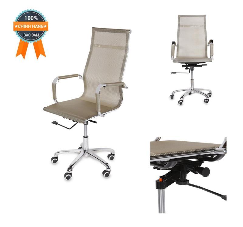 Ghế lưới văn phòng lưng cao MNHC-20130-M6 (Be) giá rẻ
