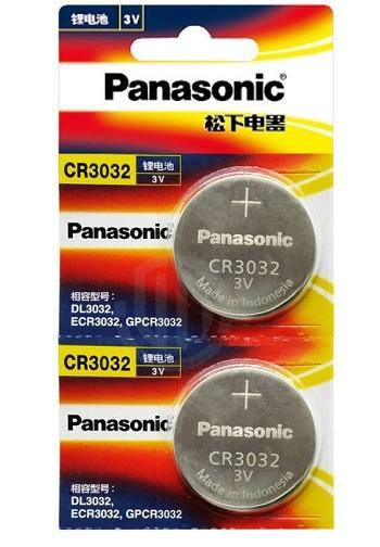 Combo 2vỉ Pin CR3032 panasonic 3v, Pin khuy áo CR3032(vỉ 1 viên)