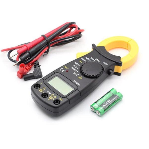 Đồng hồ đo vạn năng Ampe Kìm cầm tay DT3266L kèm pin