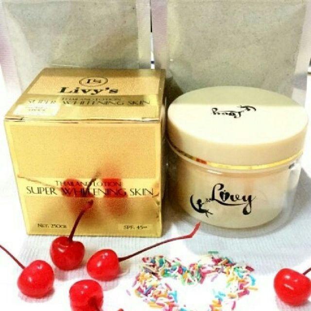 kem trắng da body Livys Thái Lan