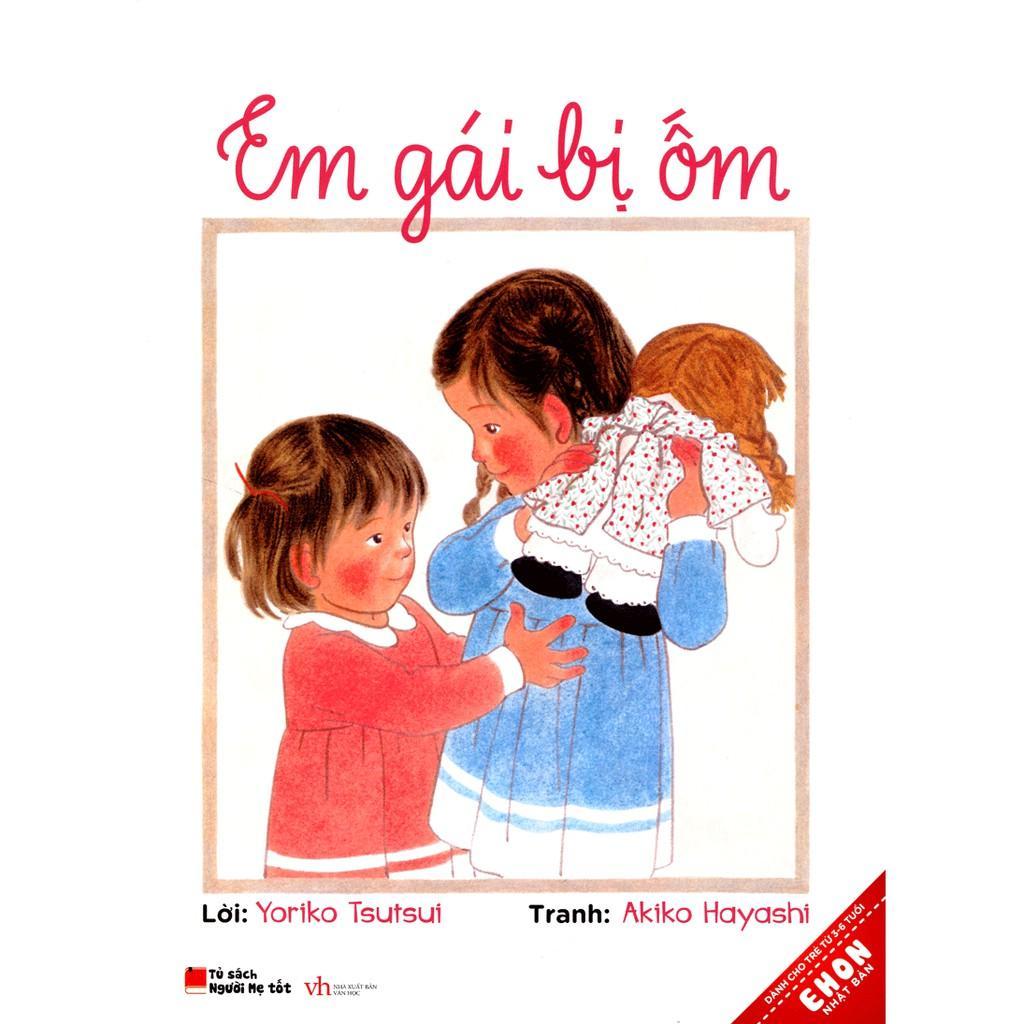 Mua Sách Ehon - Em gái bị ốm