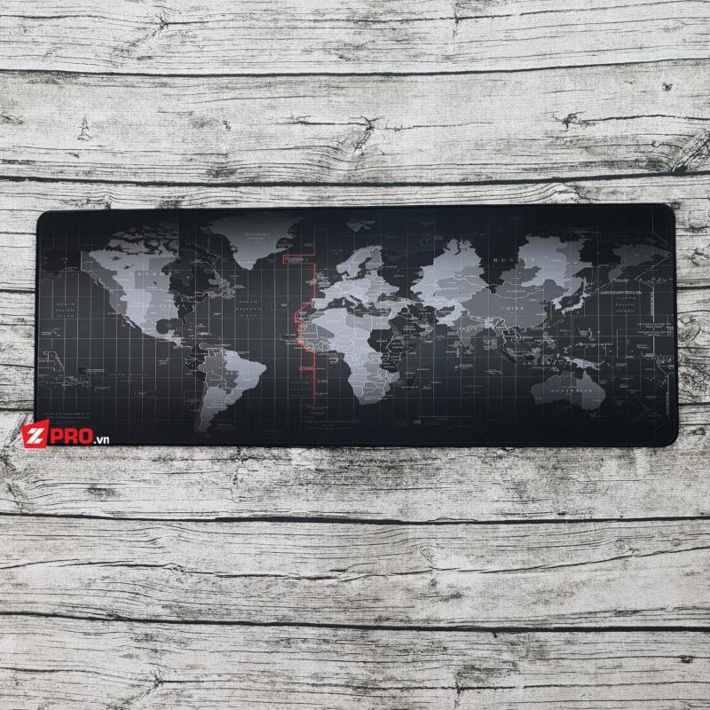 Giá Lót chuột bản đồ - World map 80x30 siêu dày 4ly
