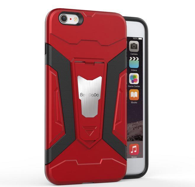 Hình ảnh Iphone 6 plus / 6s plus ốp lưng chống sốc iron man pro cao cấp ( mẫu mới )