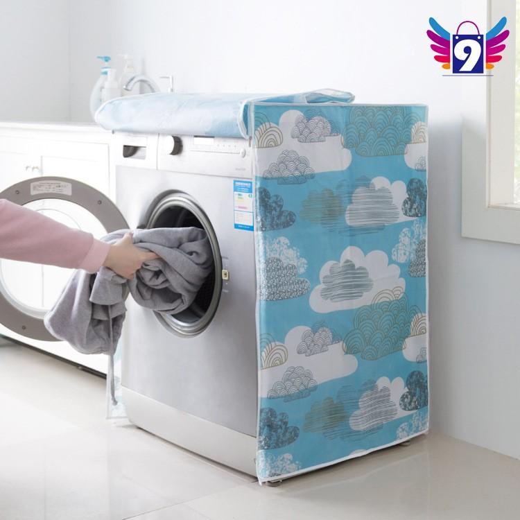 Áo trùm máy giặt chống thấm nước, chống ánh nắng 9STORE 6kg - 10kg (cửa trên, cửa trước)