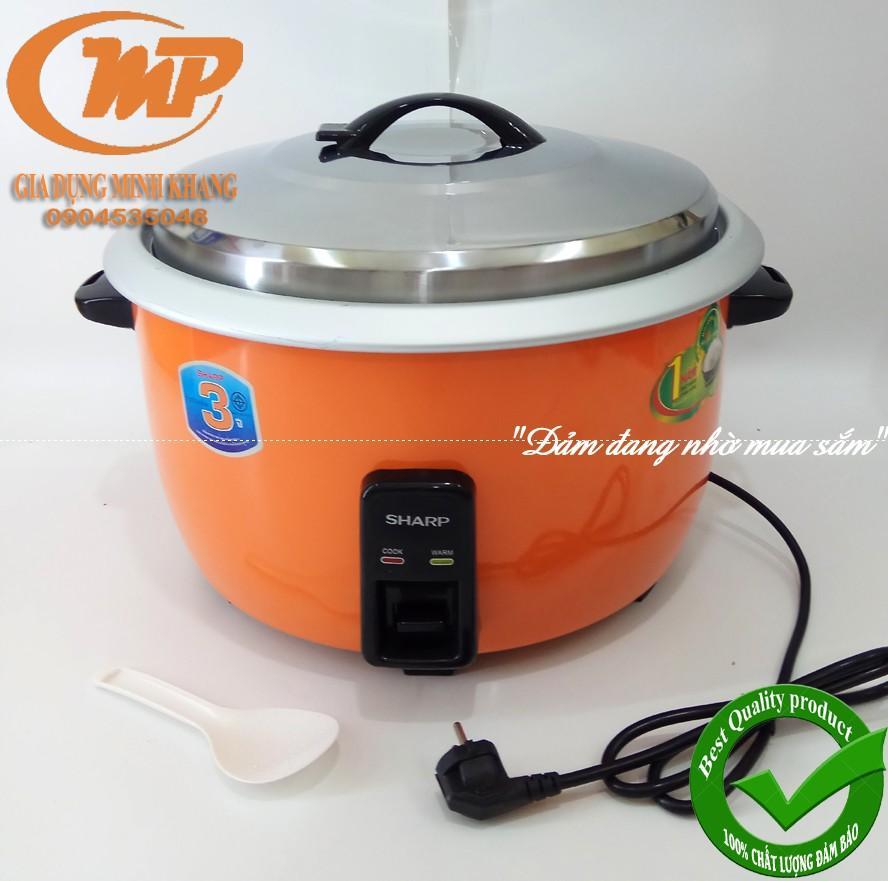 Nồi cơm công nghiệp Sharp KSH 385 Thailand 24 lít (8.5 lít cơm) Bảo hành 12 Tháng