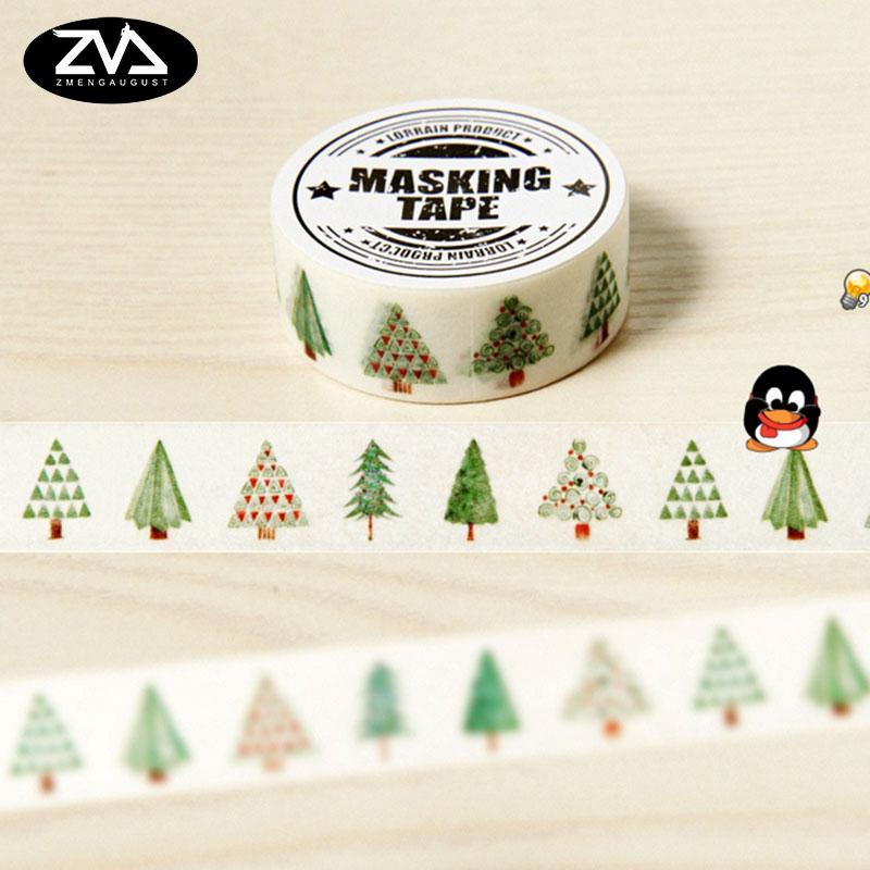 Mua 15mm X 8m Lovely Hope Tree DIY Washi Tapes / Masking Tape / Decorative Adhesive Tapes / School Supplies Fashion Decorative - intl