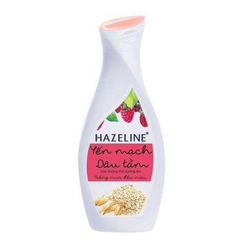 Sữa dưỡng thể dưỡng ẩm Hazeline yến mạch dâu tằm 230ml