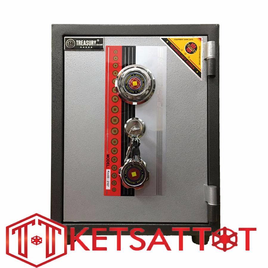 Két sắt Hanchi chống cháy KC65 (khóa cơ)- C50*R38*S36cm-55kg-0983530618