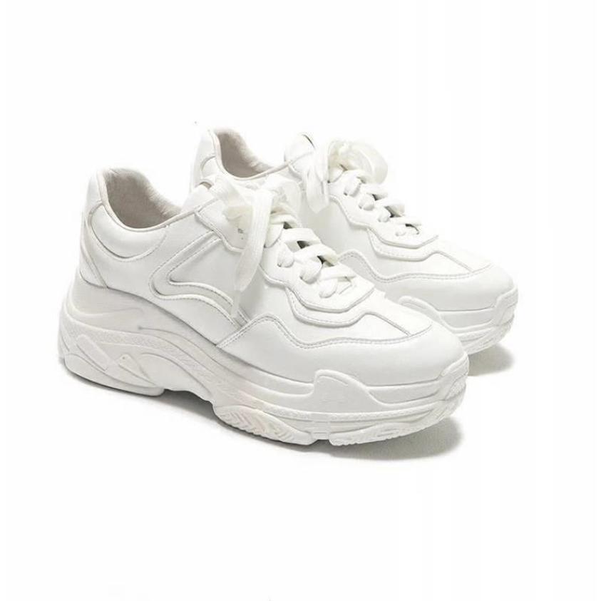 Giày thể thao nữ viền số 7 - giày nữ sneaker giầy bata trắng độn đế đi học thời trang ullzang hàn quốc đẹp giá rẻ hot 2020 giá rẻ