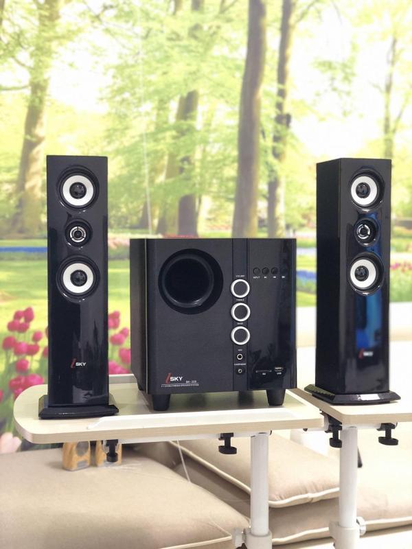 Dàn Âm Thanh Karaoke Đa Năng Kết Nối Tivi - Máy Tính - Điện thoại - Dàn loa Isky Sk-329 Lựa chọn thông dụng của mọi gia đình. Khuyến mại 02 micro test loa