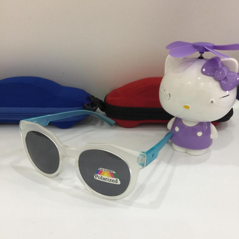 Mua [HÀNG SẴN CÓ] Với thiết kế màu sắc mắt mèo bắt mắt cặp kính mắt dành cho bé yêu đi nắng chống tia UV và bụi bẩn M154-89 + Tặng hộp đựng đáng yêu