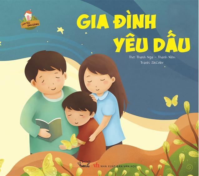 """Truyện song ngữ trẻ em Việt-Anh """"Gia đình yêu dấu"""""""