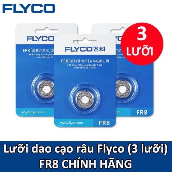 Bộ 3 Lưỡi máy cạo râu FLYCO FR8