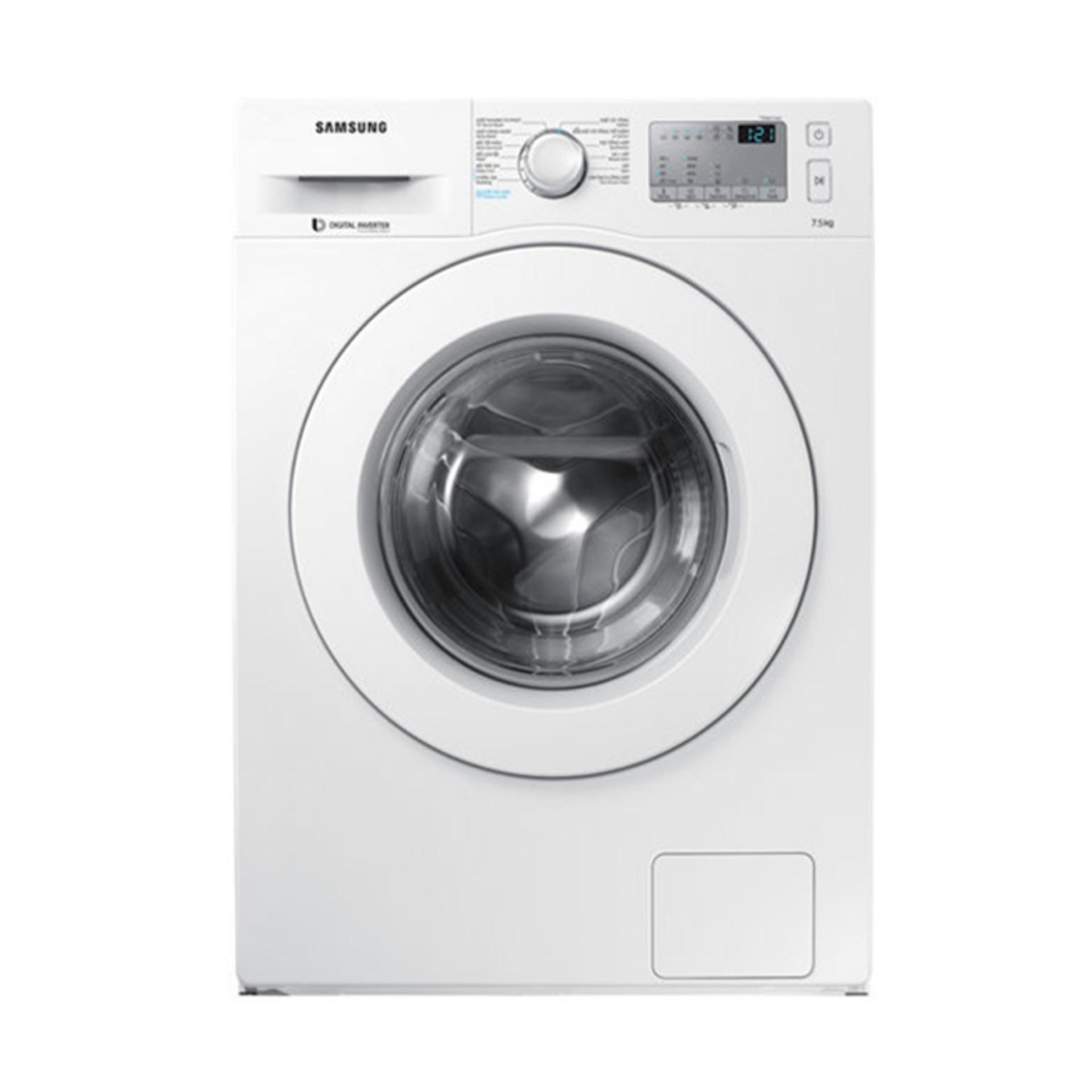 Hình ảnh Máy giặt cửa trước hơi nước Samsung Inverter WW75J42G3KW/SV 7.5kg (Trắng)