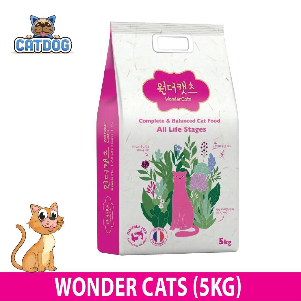 Giá Bán Thức Ăn Hạt Cho Meo Wonder Cats 5 Kg Nhãn Hiệu Wonder Cats