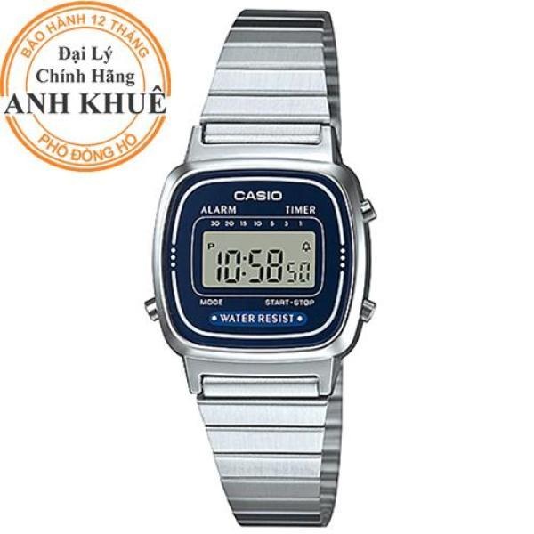 Đồng hồ nữ dây kim loại Casio Anh Khuê LA670WA-2DF bán chạy