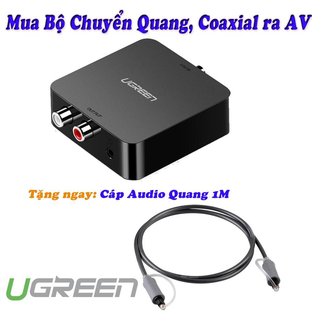 Bảng giá Bộ chuyển âm thanh Quang, Coaxial sang AV Ugreen 30910 Điện máy Pico