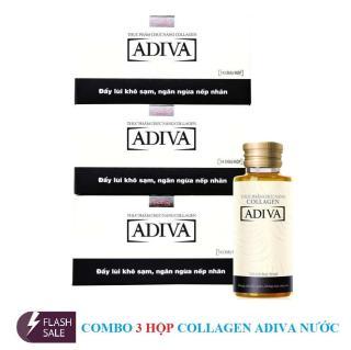 Combo 3 Hô p Dưỡng Chất Collagen Adiva Da ng Nươ c (Hô p 14 chai x 30 ml) thumbnail