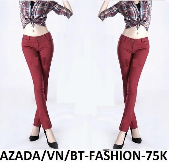 Quần Dài Nữ Kaki Thun Conton Legging Thời Trang Hàn Quốc Mới - BT Fashion QD007