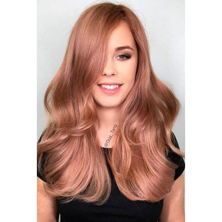 Màu nhuộm hồng vàng SNUKIA 100ml