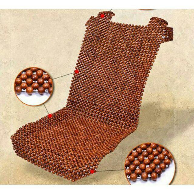 Lót ghế gỗ nhãn cho ô tô