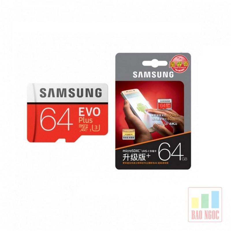Thẻ nhớ Samsung 64GB Class 10 Evo Plus