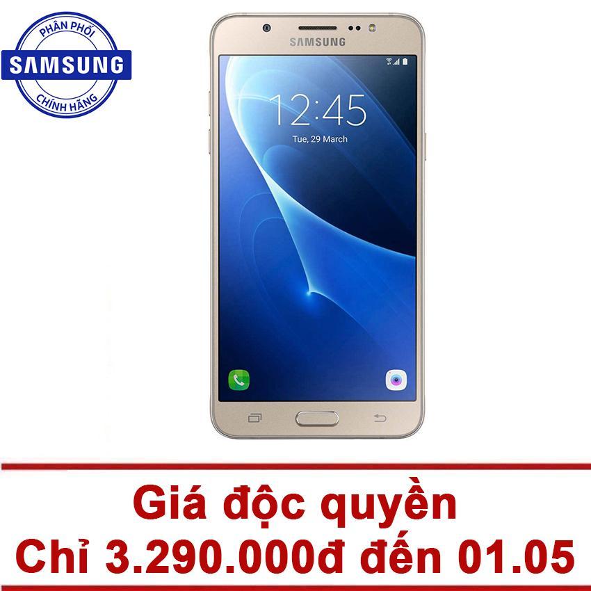 Samsung Galaxy J7 2016 16GB (Vàng) - Hãng Phân phối chính thức