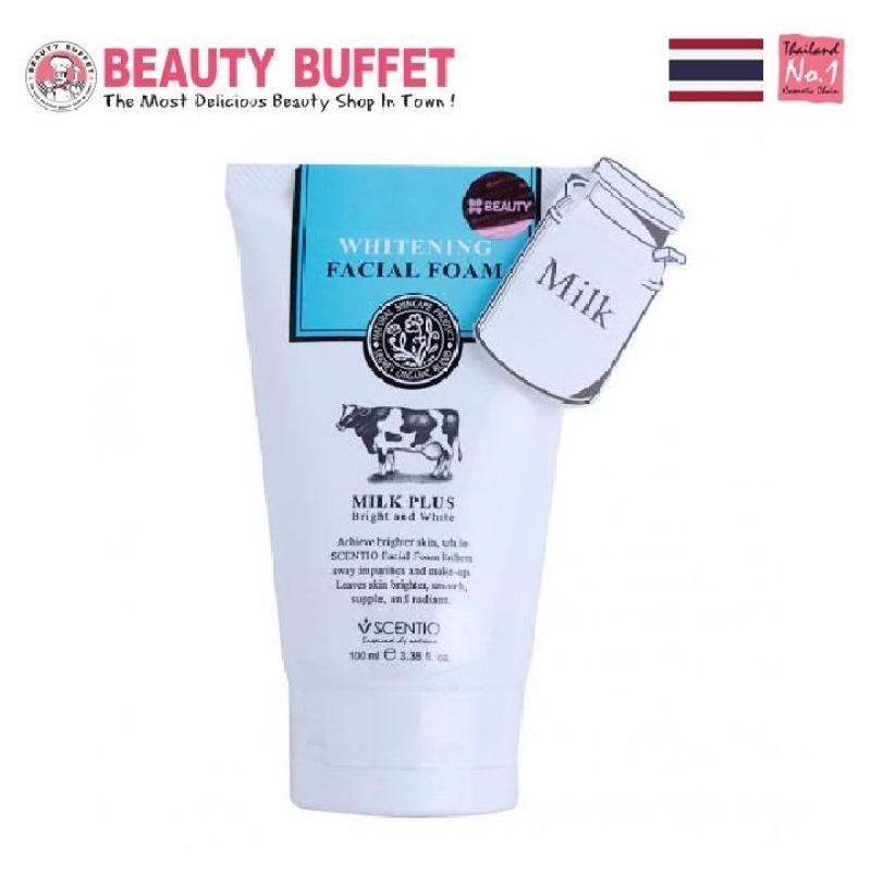 Sữa rửa mặt con bò Beauty Buffet Scentio Milk Plus 100ml nhập khẩu