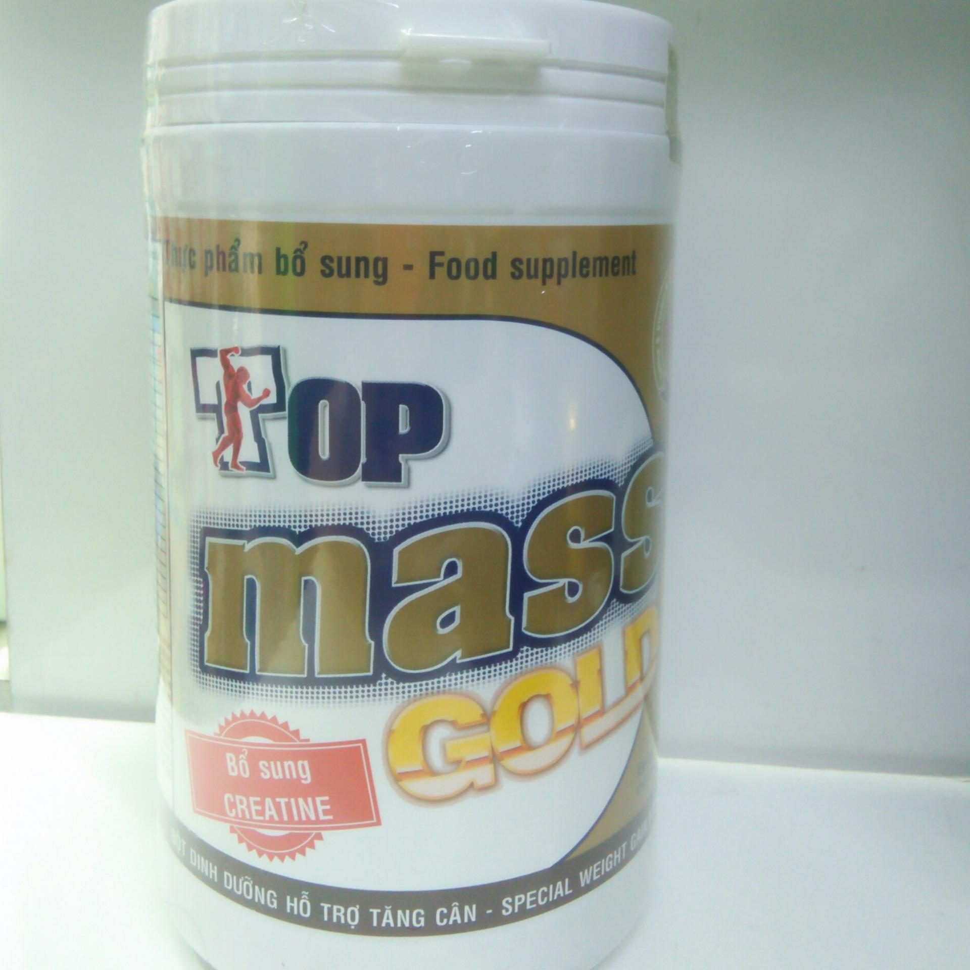 Hình ảnh Sữa tăng cân Top Mass Gold vị chocolate 800g