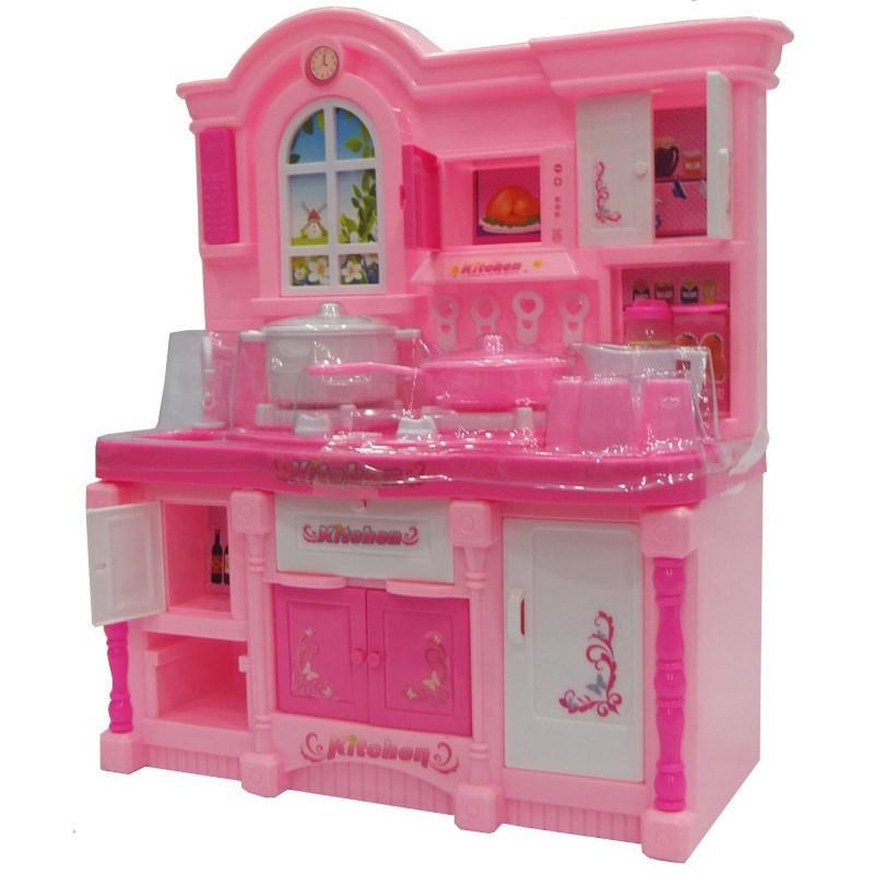 Hình ảnh Bộ đồ chơi nấu ăn cao cấp có đèn,nhạc(kèm pin),do choi nau an,nha bep,Đồ chơi nấu ăn,nhà bếp có đèn nhạc
