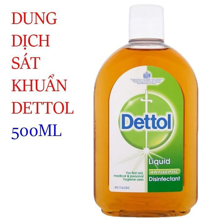 Dung dịch sát khuẩn Dettol  dung dịch rửa tay
