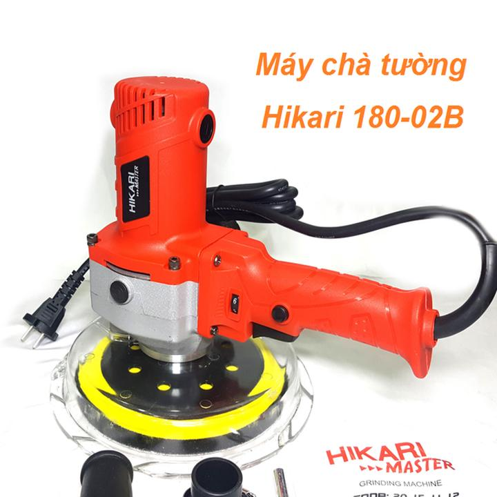 máy chà nhám, đánh bóng tường 750W - HIKARI.Thái Lan180.02B