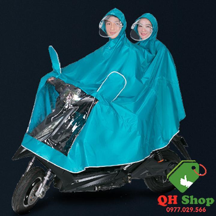 Áo mưa đôi vải oxford size 3XL