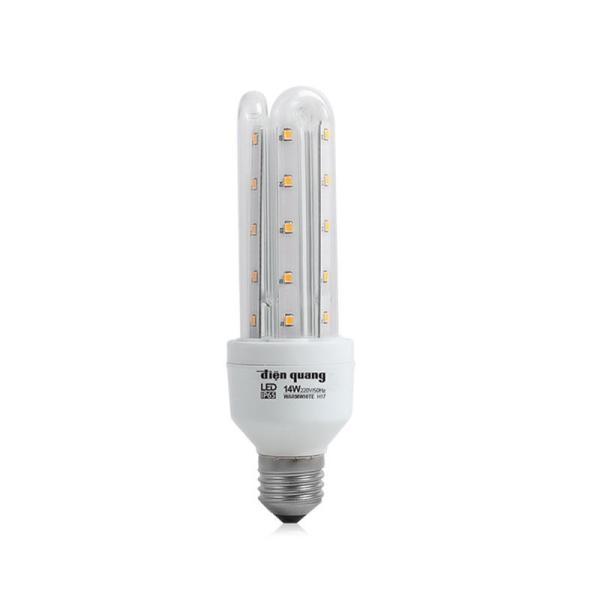Đèn Led Compact Điện Quang ĐQ LEDCP01 14765AW Sáng Trắng Chống Ẩm 14W
