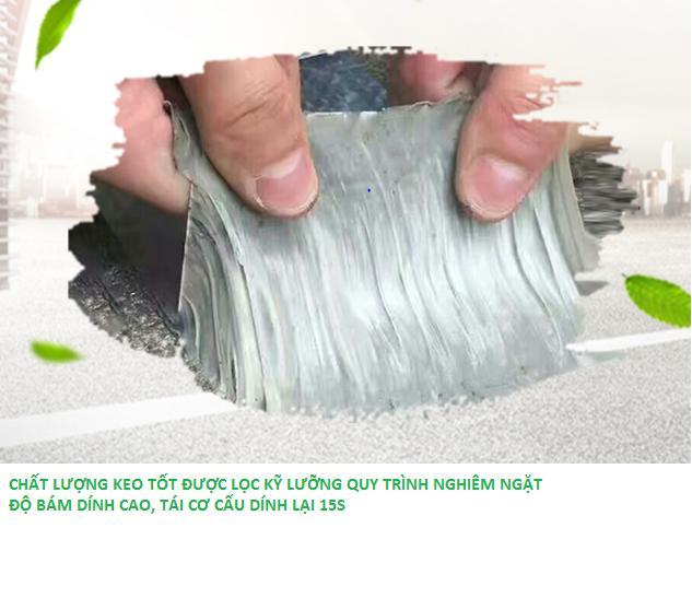 Hình ảnh Keo Dán Bạt siêu dính dán chống thấm dán trong môi trường nước tặng 2 miếng băng flex tape siêu dính nước mỗi miếng 50cm