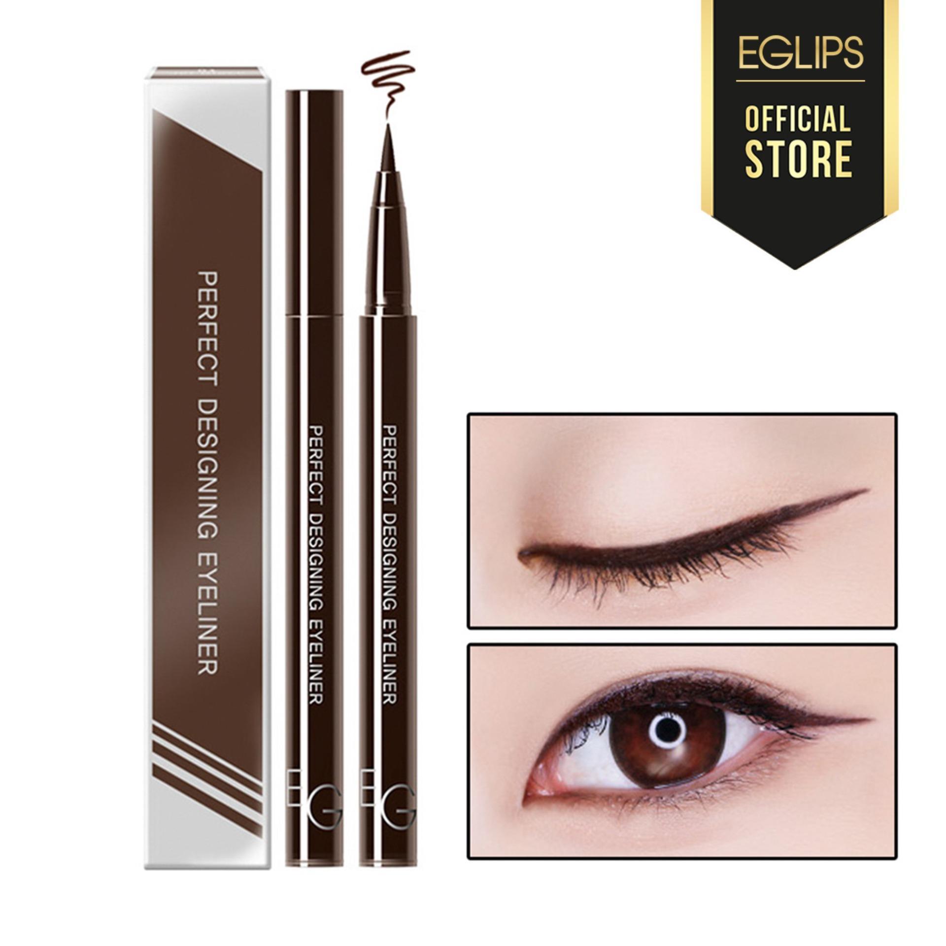 Kẻ mắt nước lâu trôi Eglips Perfect Designing Eyeliner - 02 Rich Brown (Màu nâu) tốt nhất