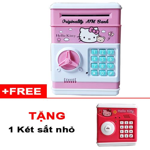 (Tặng 1 két sắt nhỏ) Két sắt mini thông minh cho bé yêu (Lớn)