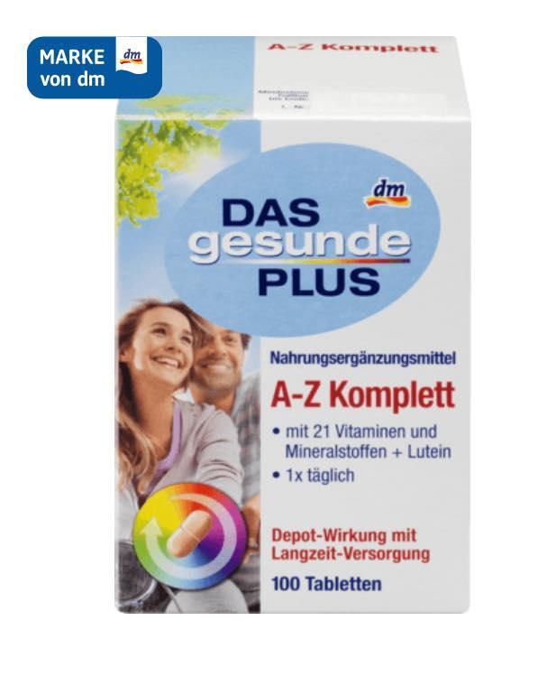 Vitamin Tổng Hợp Từ A-Z Cho Người Từ 18-50T của hãng Dasgesunde Plus Xách Tay Đức